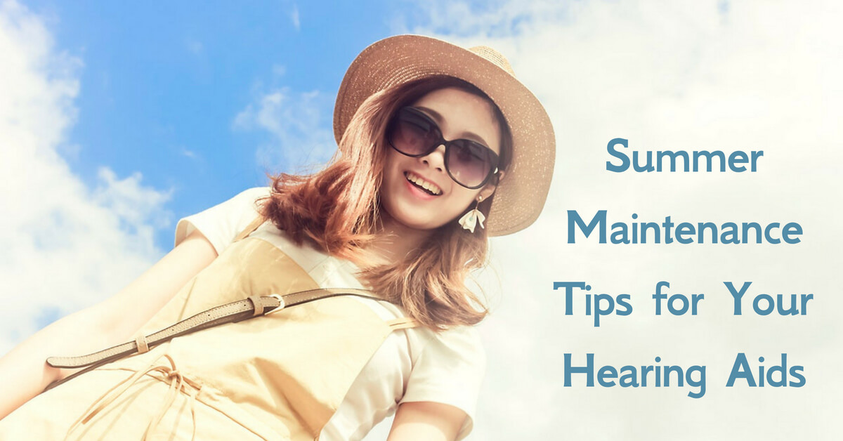 Hearing Health (MN) - Summer Maintenance Tips for Your Hearing Aids